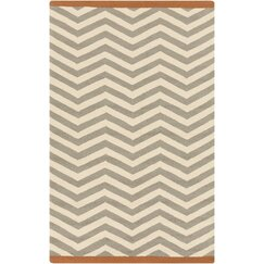 Chevron Dove Outdoor Rug