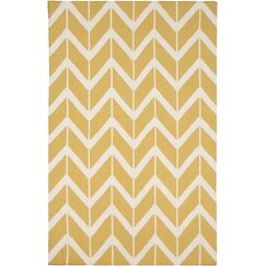 Arrow Maize Rug
