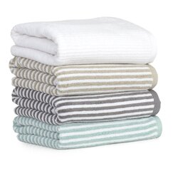 <strong></strong> Mini Stripe 6 Piece Towel Set