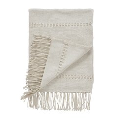 <strong>DwellStudio</strong> Raw Silk Pearl Throw