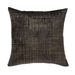 <strong></strong> Etched Velvet Espresso Pillow