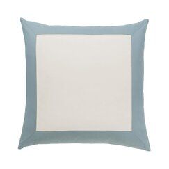 <strong></strong> Modern Border Mist Euro Sham (Set of 2)