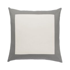 <strong>Modern Border Smoke Euro Sham (Set of 2)</strong>