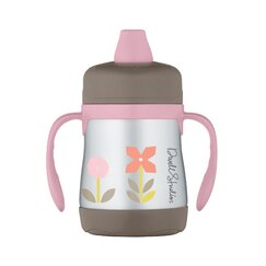 <strong>DwellStudio</strong> Rosette 7 oz Insulated Soft Spout Sippy Cup