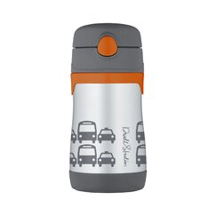 Transportation 10 oz Vacuum Insulated Straw Bottle