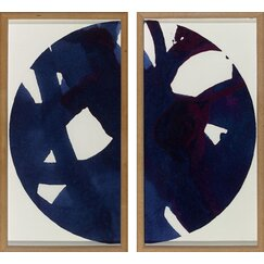 <strong>Malta Blue Globe Diptych</strong>