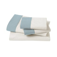 <strong>DwellStudio</strong> Modern Border Mist Sheet Set
