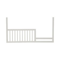 <strong>Mid-Century French White Toddler Rail</strong>