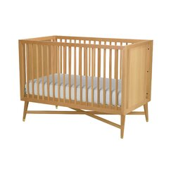 <strong>Mid-Century Natural Crib</strong>
