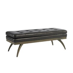 <strong>DwellStudio</strong> Erickson Leather Bench