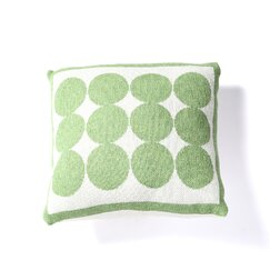 Graphic Dot Lime Pillow