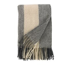 <strong>Mohair Striped Throw</strong>