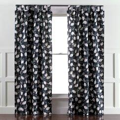 Winter Crane Admiral Curtain Panels