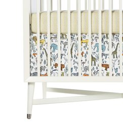 Safari Percale Crib Skirt