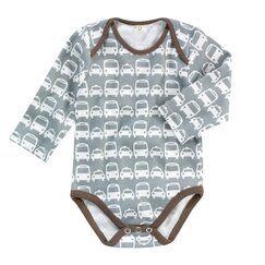 <strong>Cars Grey Long Sleeve Bodysuit</strong>