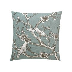 Vintage Blossom Azure Pillow Cover