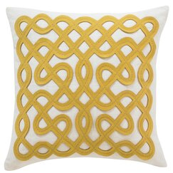 <strong></strong> Labyrinth Citrine Pillow