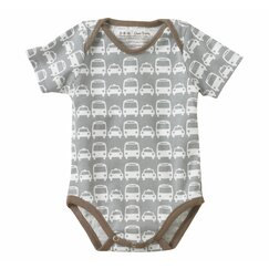 <strong>DwellStudio</strong> Cars Short Sleeve Bodysuit