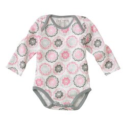 <strong>Zinnia Long Sleeve Bodysuit</strong>
