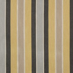 Shifted Stripe Fabric - Citrine