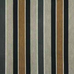 <strong></strong> Shifted Stripe Fabric - Toffee