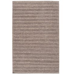 <strong>Textured Stripe Parchment Rug</strong>