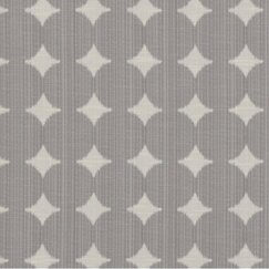 Ikat Dot Fabric - Pewter