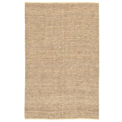 <strong>Nubby Jute Antique White Rug</strong>