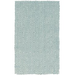 <strong></strong> Diamond Jute Slate Blue Rug