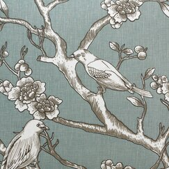 <strong>Vintage Blossom Fabric - Jade</strong>