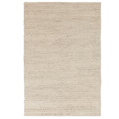 <strong>Braided Wool Stone Rug</strong>