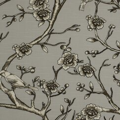 <strong></strong> Vintage Blossom Fabric - Dove