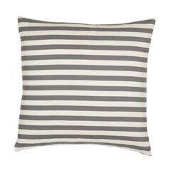 <strong>Draper Stripe Ash Euro Sham (Set of 2)</strong>