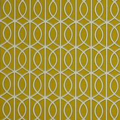 <strong>DwellStudio</strong> Gate Fabric - Citrine
