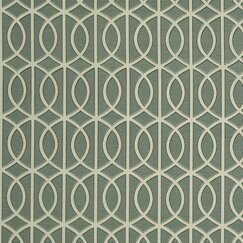 <strong>DwellStudio</strong> Gate Fabric - Jade