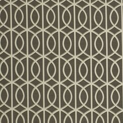 <strong>DwellStudio</strong> Gate Fabric - Charcoal