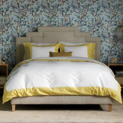 <strong></strong> Modern Border Citrine Duvet Cover