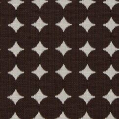 <strong></strong> Ikat Dot Fabric - Chocolate