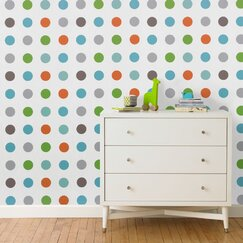<strong>DwellStudio</strong> Dots Multi Wallpaper