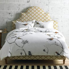 <strong></strong> Chinoiserie Duvet Cover