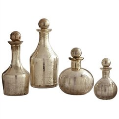 <strong></strong> Blythe Glass Decanters (Set of 4)
