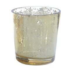 <strong>DwellStudio</strong> Gold Glass Votive