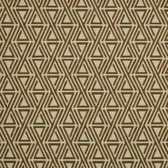 <strong>DwellStudio</strong> Triangle Maze Fabric - Copper