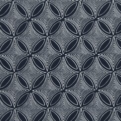 <strong></strong> Desert View Fabric - Navy