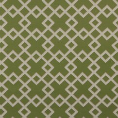 <strong>DwellStudio</strong> Cross Lane Fabric - Lime
