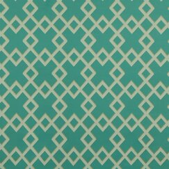 <strong>DwellStudio</strong> Cross Lane Fabric - Turquoise