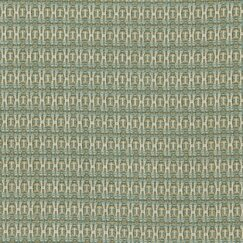 <strong></strong> Locking Dots Fabric - Turquoise