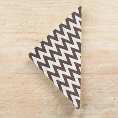 <strong>DwellStudio</strong> Chevron Charcoal  Napkin (Set of 4)