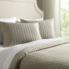 Cary Quilt Set, Putty