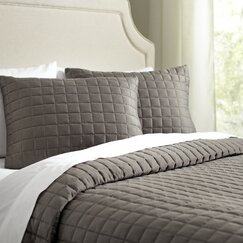 Cary Quilt Set, Pewter